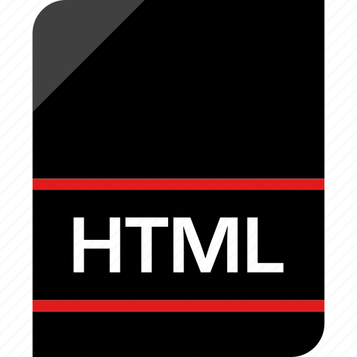 html, hyper, page, text icon