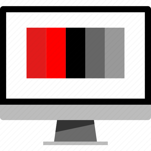 colors, internet, mac, pc icon