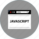 code, development, javascript, web icon
