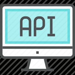 api, application, coding, development, interface, platform, programming, software icon