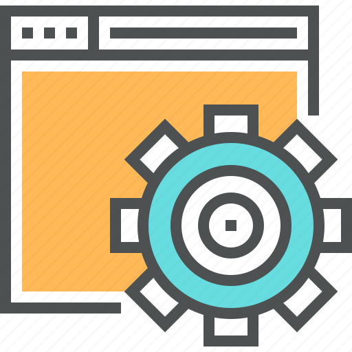 Building, cogwheel, engineering, gear, optimization, seo, web icon - Download on Iconfinder