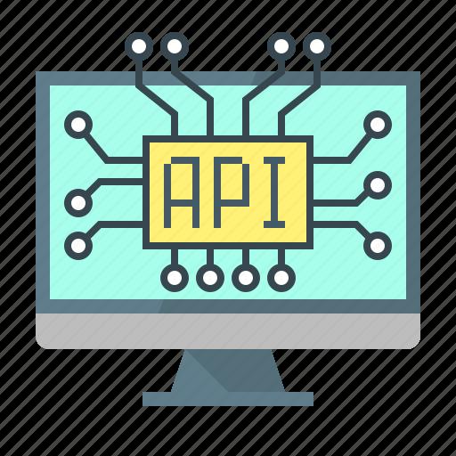 api, application, coding, development, interface, program, programming icon