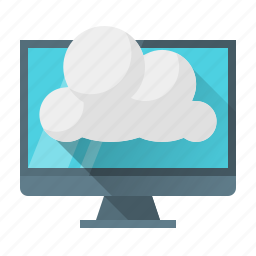 cloud, computing, data, development, network, web icon