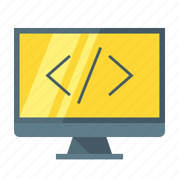 barcode, code, coding, html, language, program, programming icon