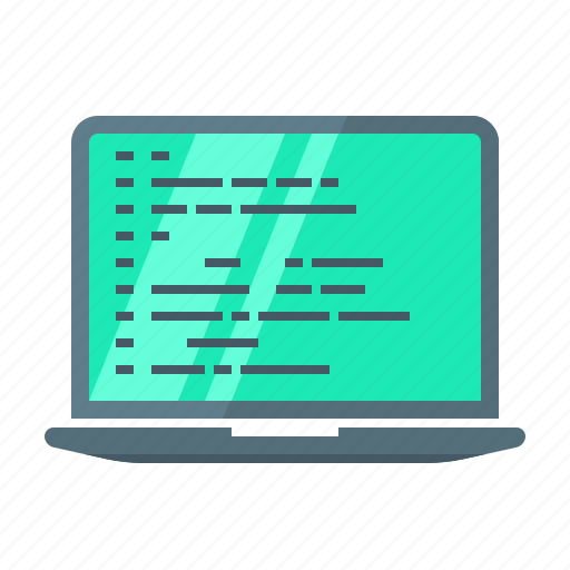 code, coding, computer, development, device, laptop, programming icon