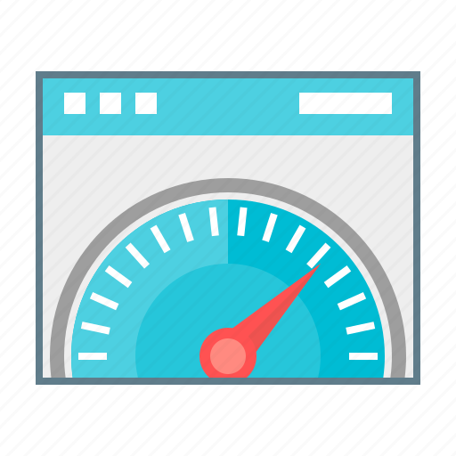 development, optimization, page speed, performance, seo, speed, speedometer icon