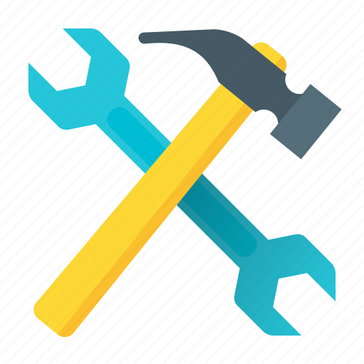 development, hammer, programming, repair, service, tools, wrench icon