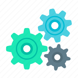 cog, configuration, development, gear, programming, setting, system icon