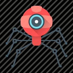 development, dron, robot, tipster, web, web crawler icon