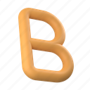 design, tools, bold, text, letter, b