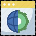 app, design, interface, monitor, pen, ruler, screen, web, website icon