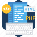 code, coding, design, designing, development, html, web icon