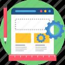 configuration, creative, creativity, design, designing, development, web icon