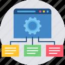 configuration, design, designing, development, folder, folders, web icon