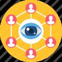 creativity, design, designing, development, search, view, web icon