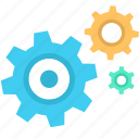 business, gear, seo, settings, web icon