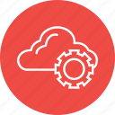 cloud, marketing, options, preferences, settings, web icon