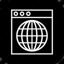browser, internet, seo, site, web, website, window icon