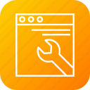 analysis, business, office, page, seo, setting, work icon