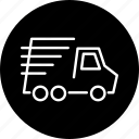 bring, deliver, delivery, transport, truck, vehicle icon