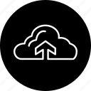 colud, rain, season, up, weather icon