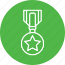 achivement, gold, medal, sports, win icon