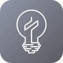 bulb, dolar, idea, lamp, light, money icon