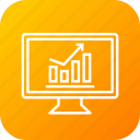 business, chart, computer, data, finance, graph, statistics icon