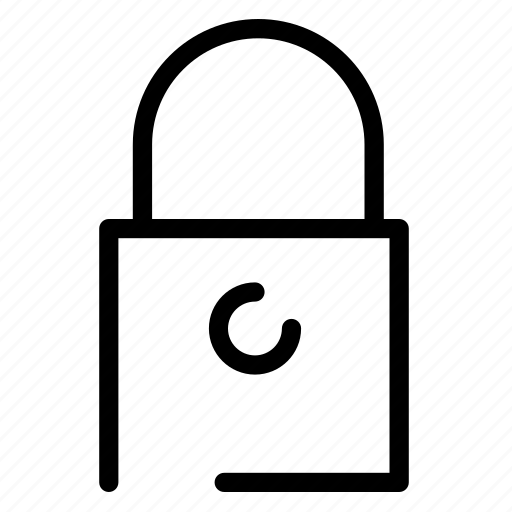 lock, pad, padlock, password, safety, secure icon