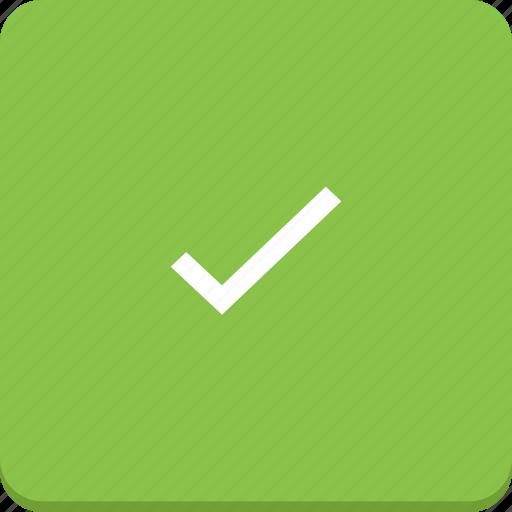 accept, check, material design, ok, tick icon