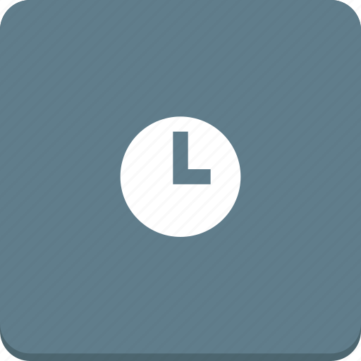 clock, event, material design, schedule, time icon