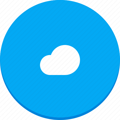 cloud, design, material, online, storage, sync, weather icon