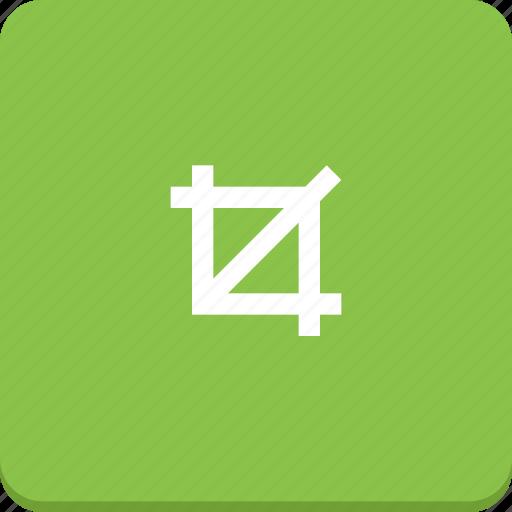 action, crop, design, graphic, material design, tool icon
