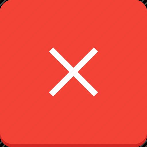 action, cross, delete, material design, remove icon