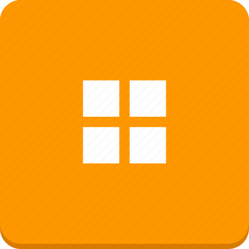 display, grid, material design, mode icon
