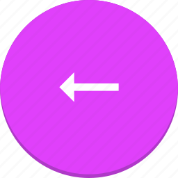 arrow, design, direction, left, material icon