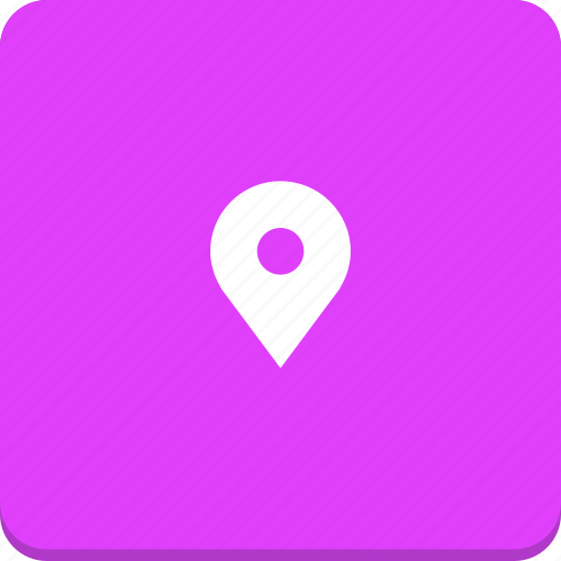location, map, marker, material design, pin, position icon