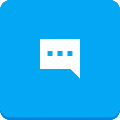chat, communication, material design, message, talk, text icon