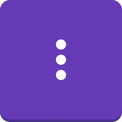 action, material design, mobile, more, options icon