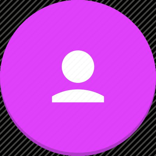 account, avatar, design, material, profile, user icon