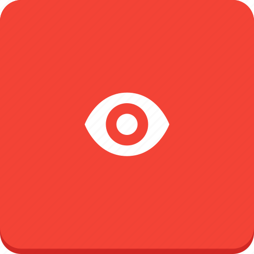 design, eye, find, material design, see, view icon