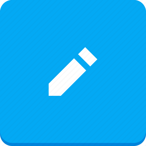 communication, edit, material design, pen, pencil, text, write icon