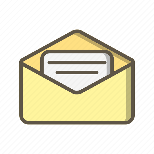 email, envelope, letter icon