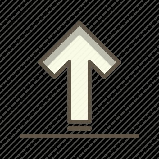 transfer, up arrow, upload icon