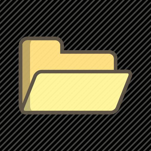 database, document, folder icon
