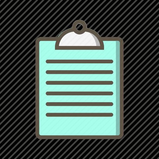 chart, clipboard, report icon