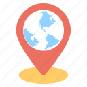 global positioning, gps, location pointer, navigation service, world location icon