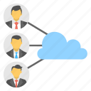cloud community, cloud connection, cloud sharing, cloud sharing client, web hosting icon