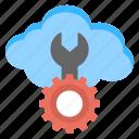 cloud management, cloud repairing, network maintenance, technology setting, web hosting