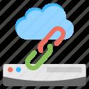 cloud based server, cloud server connection, cloud server link, cloud server platform, web hosting icon